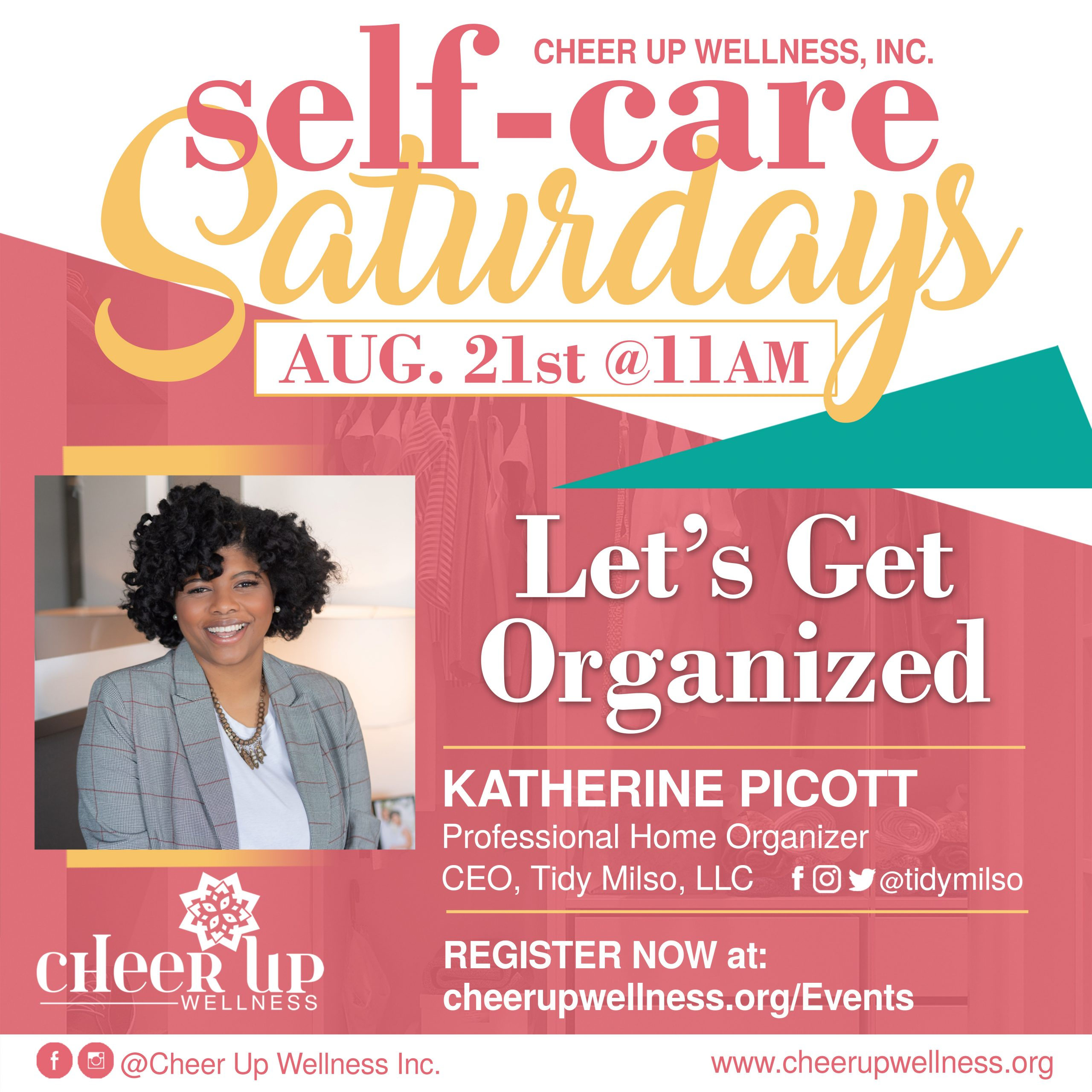 Self-Care Saturday (Let's Get Organized)